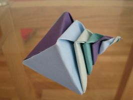 Origami Sea Shell by icantwrite