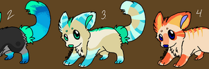 wolf pup adoptables -Open- by NearDays