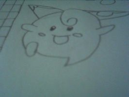 My Drawing of Cleffa by Teamscout11
