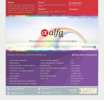 Alfanet Web Design 3 by HalitYesil