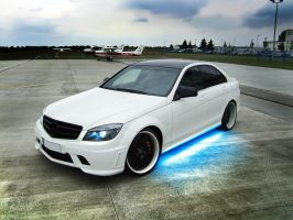 Mercedes-Benz C63 AMG by apple-yigit-jack