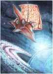 ACEO - Space by drachenmagier