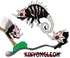 Fan made Grimm Kinyongleon by LongSean22