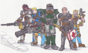 Fallout team by 1tyler