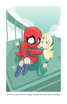 Adorable Tragedies 5- The Death of Gwen Stacy by TonyFleecs