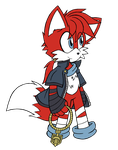 Gift: Mike the Fox by DragonQuestHero