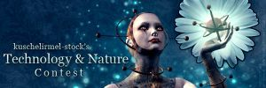Technology and Nature Banner by kuschelirmel-stock