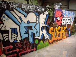 graffitywall by Nabahaal