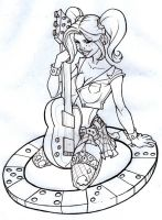 vegas rock chick by Nehemya
