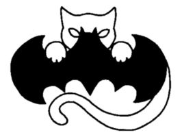 CatBat Symbol by blackpanther1307