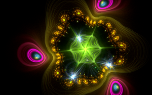 pattern with lighting circles by Andrea1981G