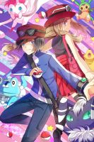 Pokemon XY by bunpurr