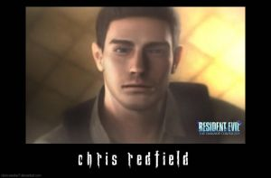 Chris Redfield ScreenShot by Claire-Wesker1