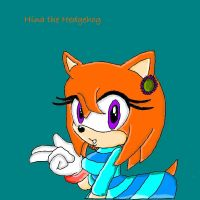 Hina the Hedgehog color by TheHedgehogMaria