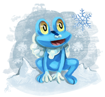 G6: Froakie by Vrine