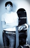 Me and My Snowboard by SilverSliver17