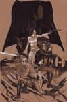 Star Wars1Prelim by PaulRenaud