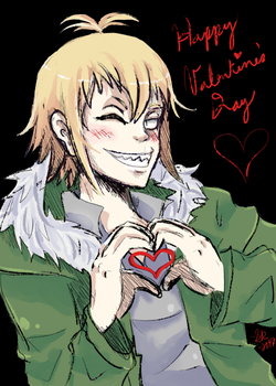 Happy Valentine's Day! by BorderlineCloud