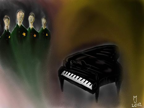 The Pianist by Jagdell