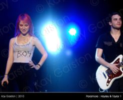 Paramore - Hayley + Taylor 1 by Special-K-001