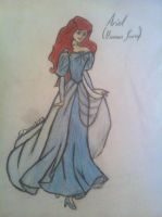 Ariel (human form) by thelifeofawallflower