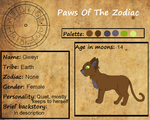 Paws of the Zodiac App by cookie-stalker