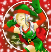 Christmas Elf by Quietstorm21