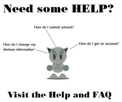 Need Some Help? by knitter-chick