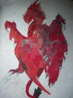 Welsh Red Dragon by Third-eye-Artist