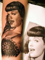 Betty Page by Phedre1985