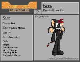 Team Lupin: Randall the Bat by Hotspot0626