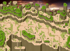Desert Map Rpg Maker by ChampGaming