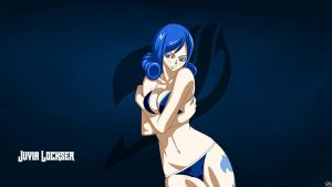 Fairy Tail Juvia Lockser Wallpaper by shmartin