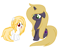 Mane Swap-Puddleheart and Starlight Sprinkle by xx-Chanour