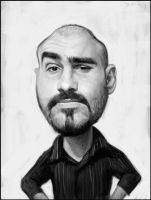 Alfonso Callejas Caricature by Sycra