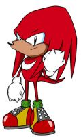 Classic Knuckles the Echidna by A-Scream