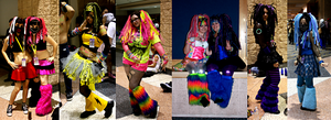 Metrocon 2010 RAVE -Ravers- by Neon-Coffee
