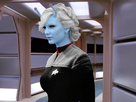 Andorian Taylor Swift by FruitLoop30