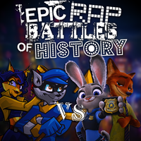 ERB Idea: Sly and Carmelita vs Judy and Nick by Stofferex