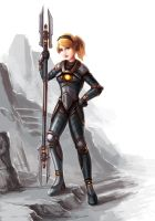 LoL - Steel Legion Lux by cubehero