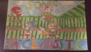 Sonic and Friends (Classic Era) by FireFeyRose412