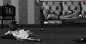 The Incredible Shrinking Man 10  the Babysitter by DrCreep