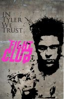 Fight Club. In Tyler We Trust by crazy-chris117
