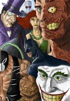 Bat Villains by solid-snake92