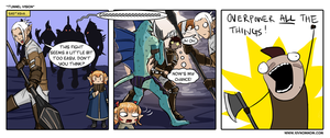 FFXIV Comic: Tunnel Vision by bchart