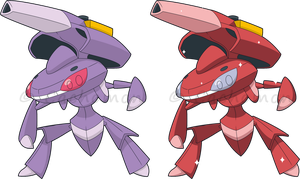 +649 - Genesect+ by Cachomon