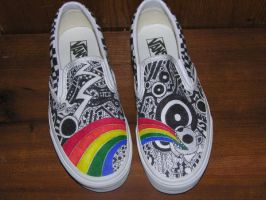 custom vans by wesleee