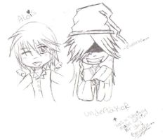 Alois and undertaker chibis by Deathly-UnderTaker