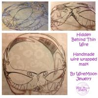 Hidden Behind Thin Wire by WireMoonJewelry