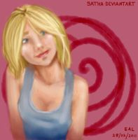 Blonde Smile by Satha